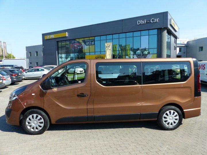 Opel Vivaro L2H1 1,6 Cdti Biturbo 125KM, nawiewy, sensory 2017 Vat23