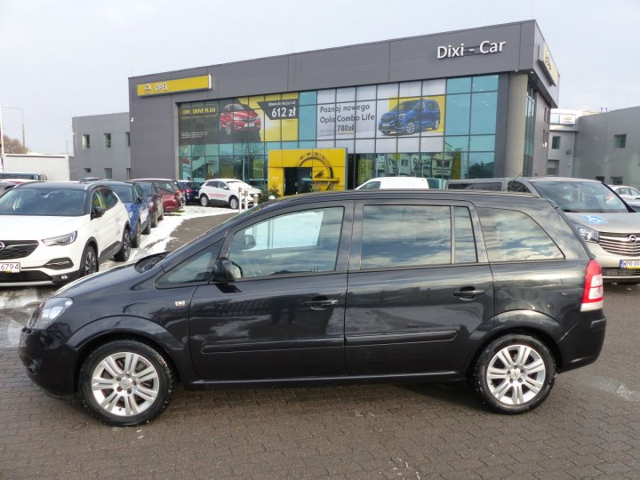 Opel Zafira B 1,7 CDTI 125KM 2012r, serwis ASO