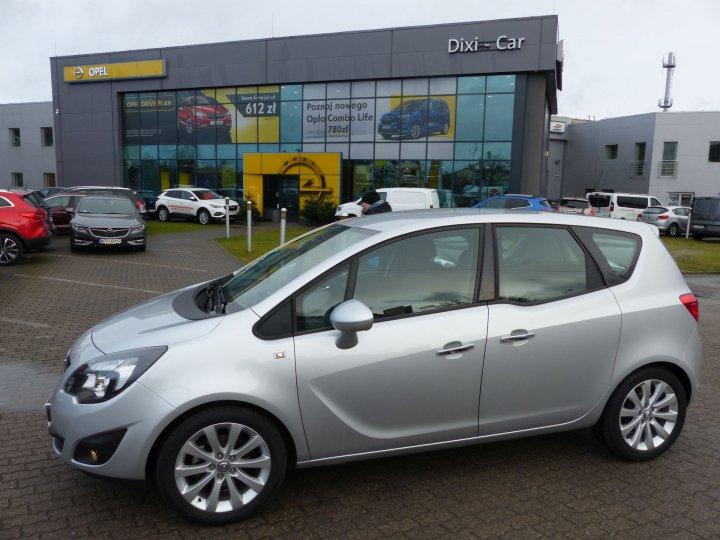 Opel Meriva B 1,4 Turbo 120KM, Cosmo, Niski przebieg