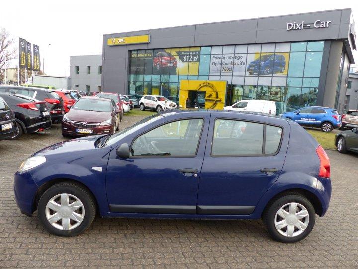Dacia Sandero 1,4 benzyna 75KM, Salon Polska, 1 właściciel