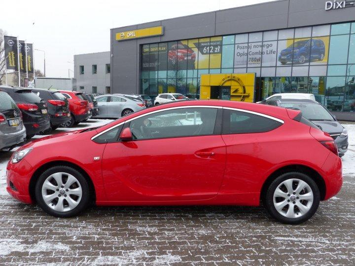 Opel Astra GTC 1.4 turbo Opc Line COSMO FULL Serwis ASO Gwarancja