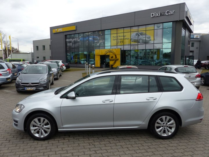 VW Golf VII Kombi 1,6 TDI 105KM, Salon PL, Vat23%