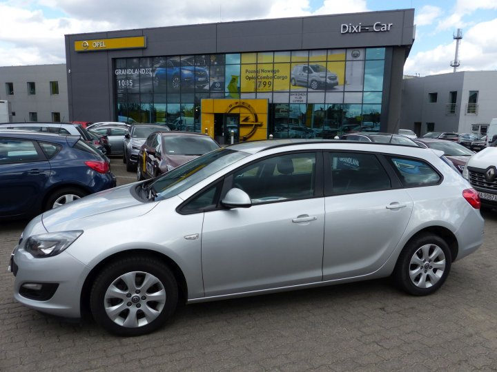 Opel Astra IV Sports Tourer 1,6 CDTI 136KM, Salon PL