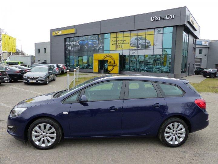 Opel Astra IV Sports Tourer 1,4 Turbo 140KM, 2014r, NISKI przebieg