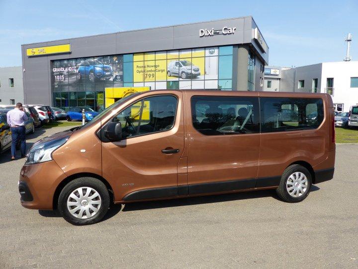 Renault Trafic 1,6 DCI 115KM 9 osób L2H1 Nawiewy tył SALON Polska Vat23%