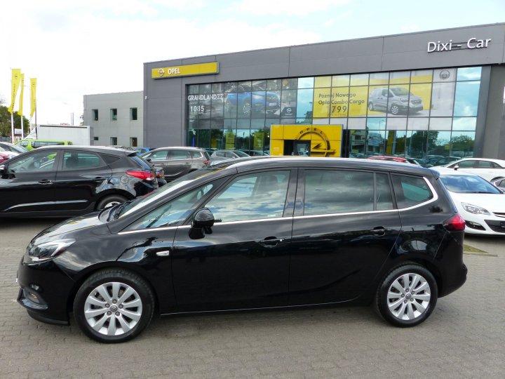 Opel Zafira C FL 1,4 Turbo 140KM, Cosmo, 7osób VAT23%,