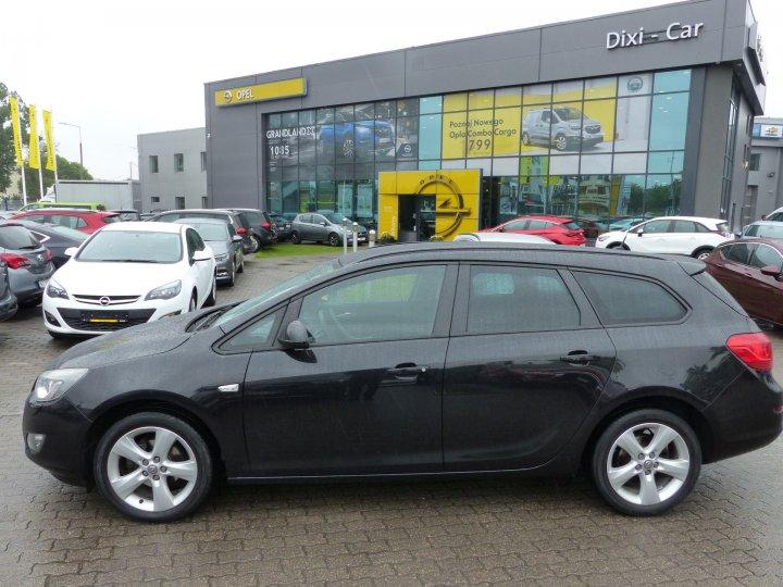 Opel Astra IV Sports Tourer 1,4 140KM, Bixenon, Klima 2 strefowa