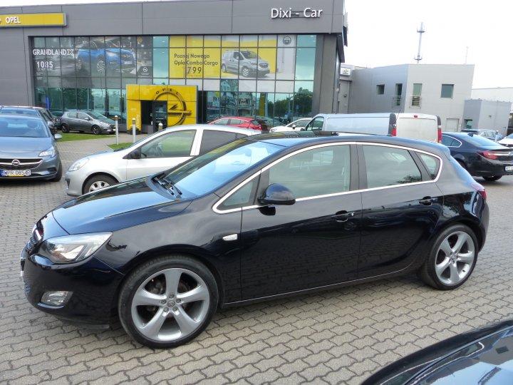 Opel Astra IV 1,4 Turbo 140KM, Sport, serwis ASO