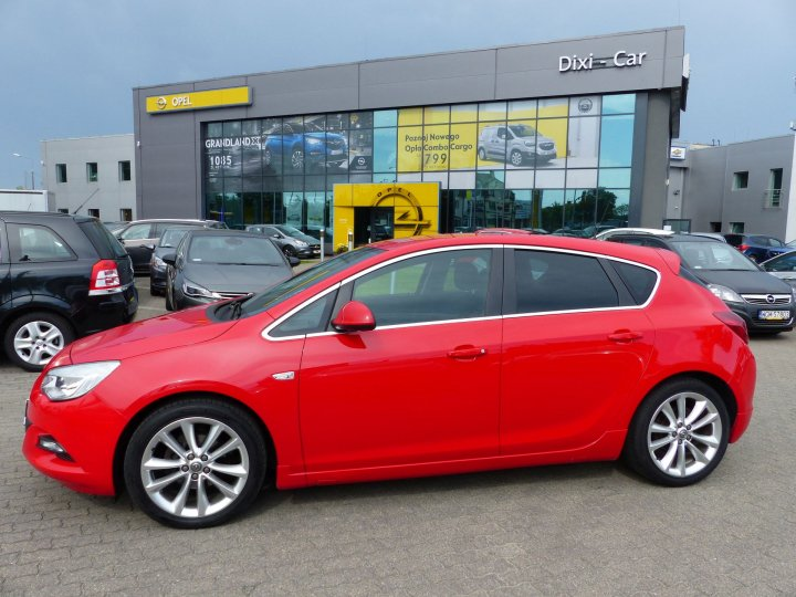 Opel Astra IV 1,4 Turbo 140KM, OPC Line, serwis ASO
