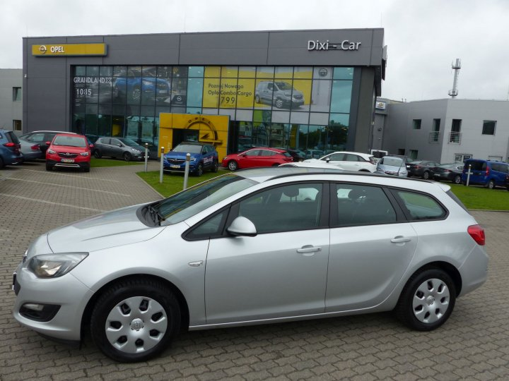 Opel Astra IV Sports Tourer 1,4 Turbo 140KM, Salon Polska, Vat23%