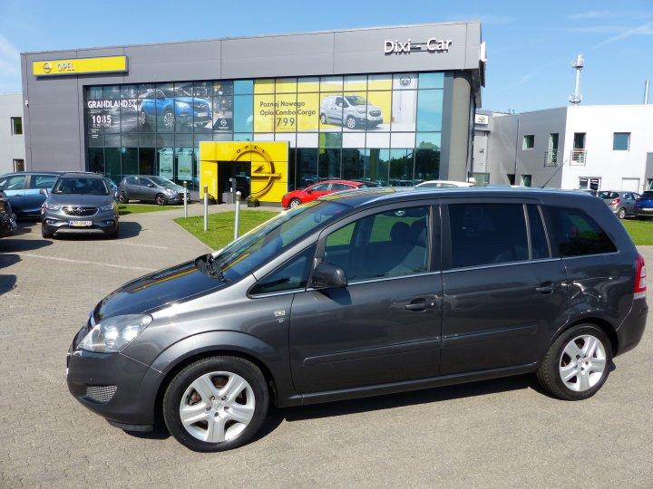 Opel Zafira 1.7 cdti 110KM Climatronic Serwis ASO Gwarancja