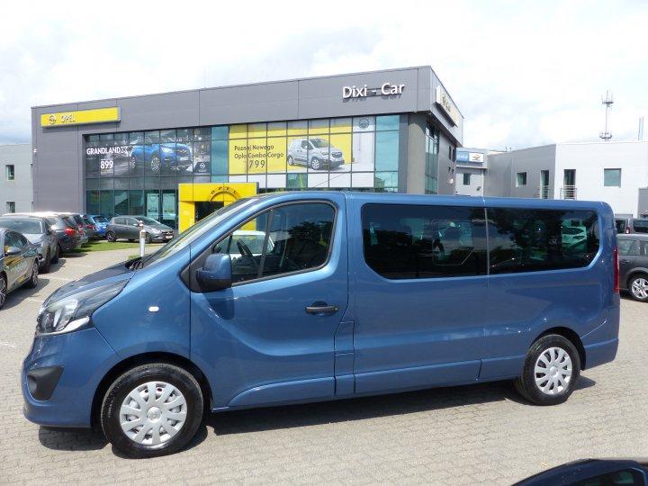 Opel Vivaro B L2H1 1,6 CDTI BiTurbo 145KM, 9 osób, Salon PL