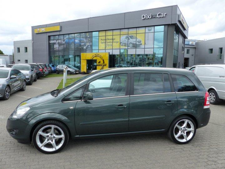 Opel Zafira B 1,8 16V 140KM, Cosmo, BiXenon, niski przebieg