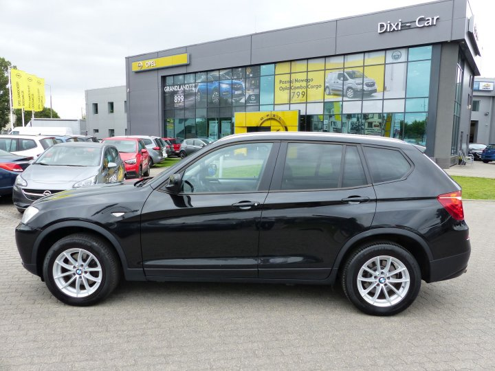 BMW X3 sDrive 18D BEZWYPADKOWA SERWIS ASO