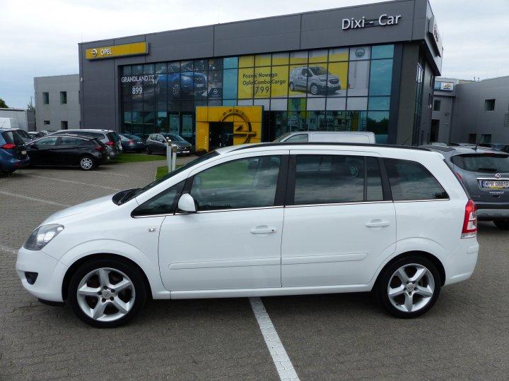 Opel Zafira B 1.6 16v Niski Przebieg Serwis ASO Gwarancja