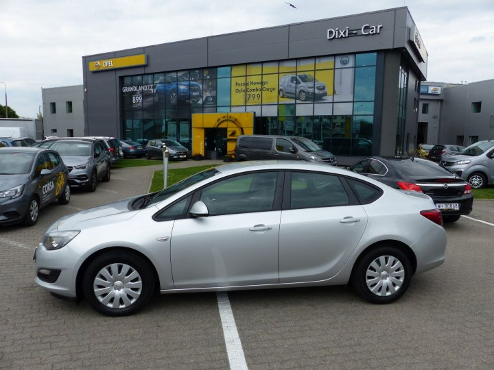 Opel Astra IV 1,4 Turbo 140KM, LPG fabryczne, Salon Polska, Vat23%