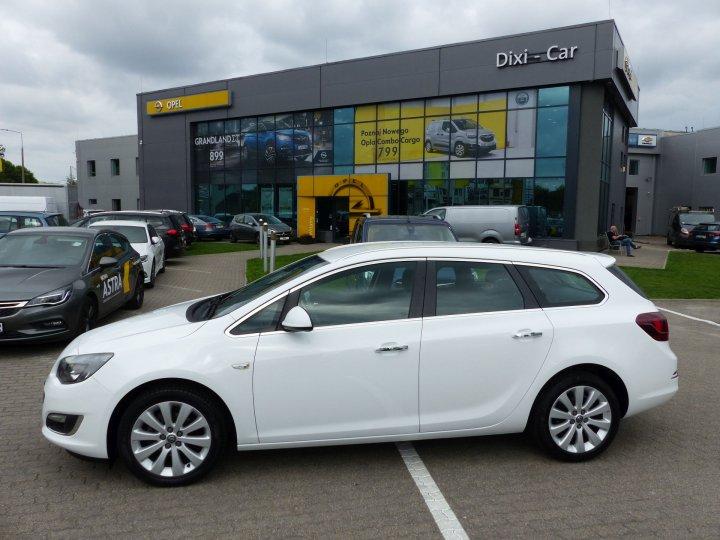 Opel Astra IV Sports Tourer, 1,4 Turbo 140KM LPG fabryczne, Cosmo