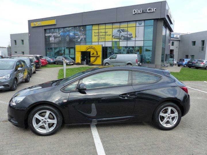 Opel Astra GTC 1.4 T 140KM Niski Przebieg Serwis ASO Gwarancja