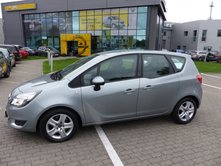 Opel Meriva B 1.4 Turbo 140KM Gwarancja Po Liftingu Serwis ASO
