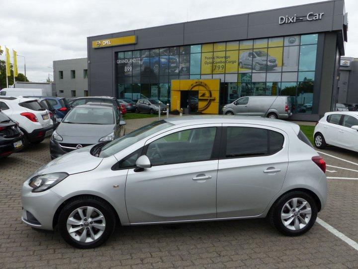 Opel Corsa E 1,4 Turbo 100KM, Podgrzewane fotele + kierownica, czujniki