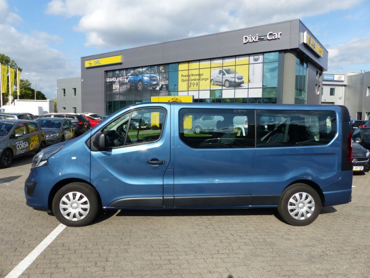 Opel Vivaro B L2H1 1,6 CDTI 125KM Nawiewy,9 osób, Salon PL, Vat23