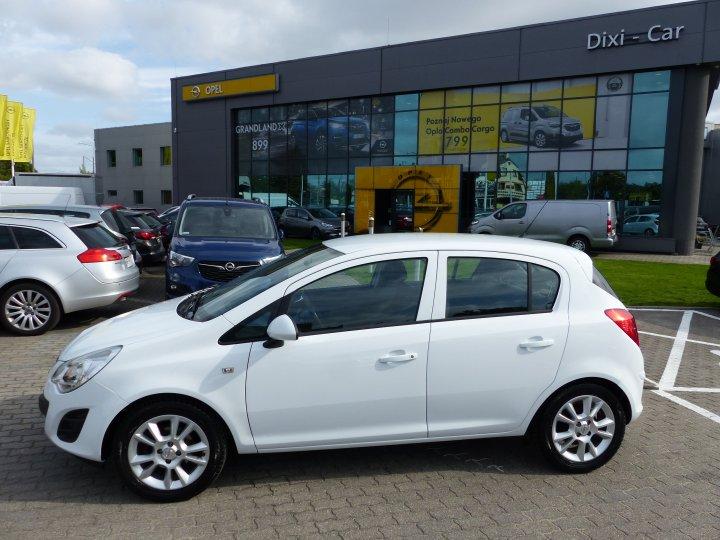 Opel Corsa D 1.2 16v Jak Nowa Niski Przebieg Serwis ASO Gwarancja