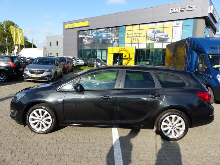 Opel Astra IV Sports Tourer, 1,4 Turbo 140KM LPG LIFT