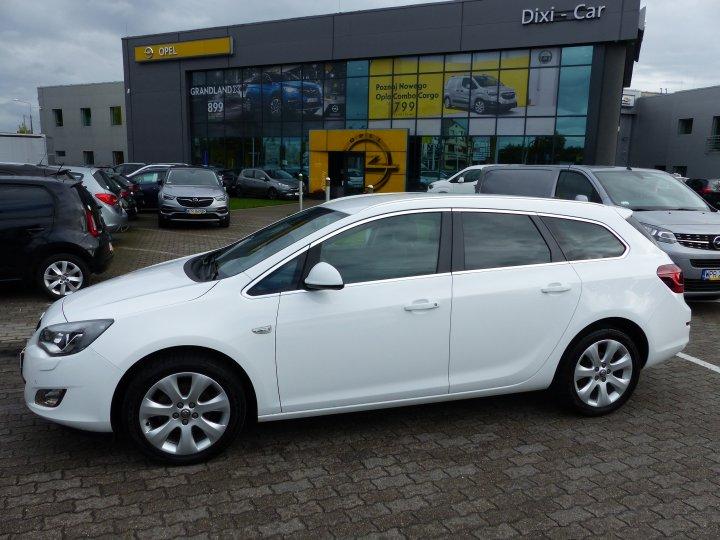 Opel Astra IV 1.4 Turbo 140KM Cosmo Serwis ASO XENON Niski Przebieg
