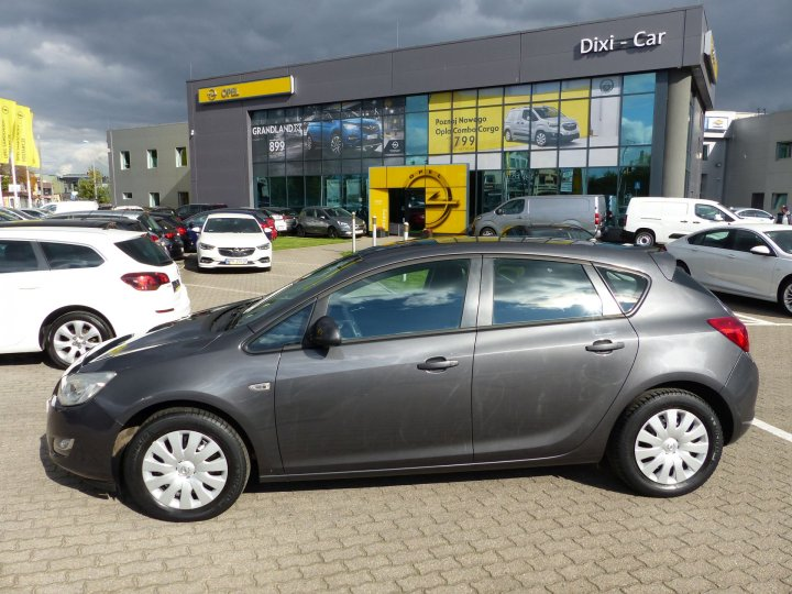Opel Astra IV 1,4 benzyna 100KM, Salon PL, 2012