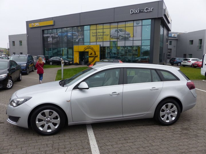 Opel Insignia 2.0 CDTI 163 KM Sports Tourer Salon rej 2015