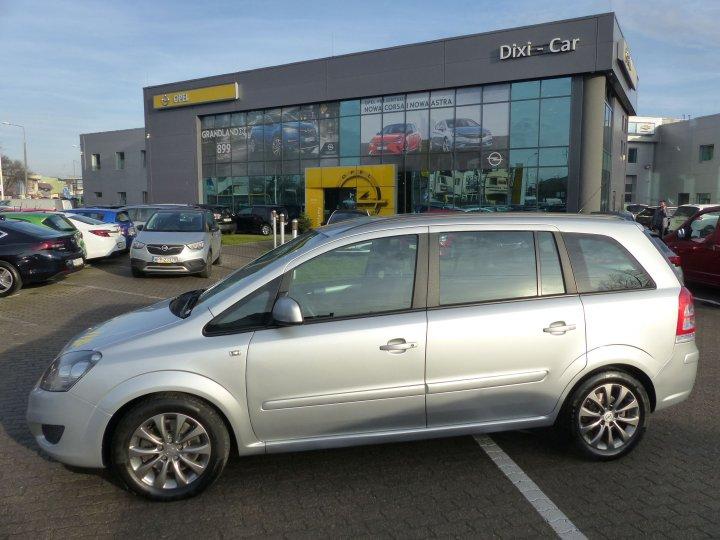 Opel Zafira B 1,7 CDTI 125 KM Niski Przebieg