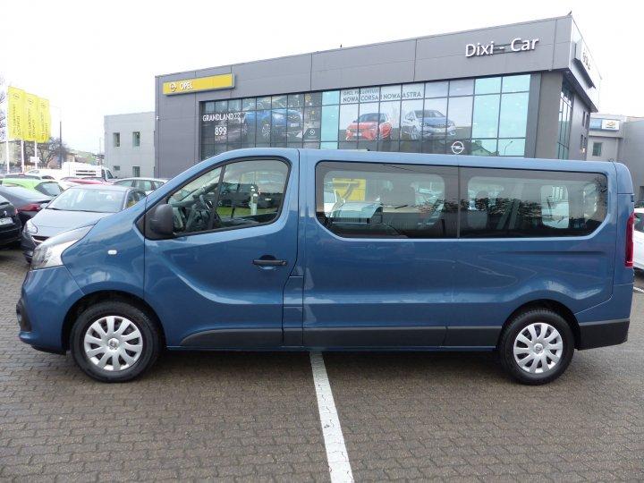 Renault trafic 1,6 DCI 125 KM 9-os