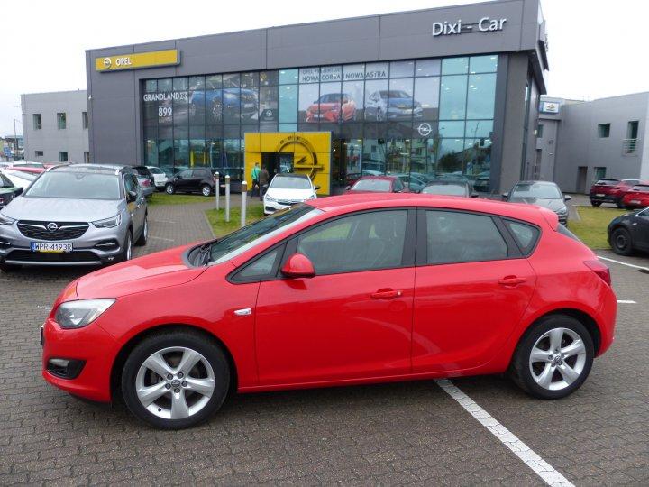 Opel Astra IV 1.4 Turbo Niski Przebieg Serwis ASO