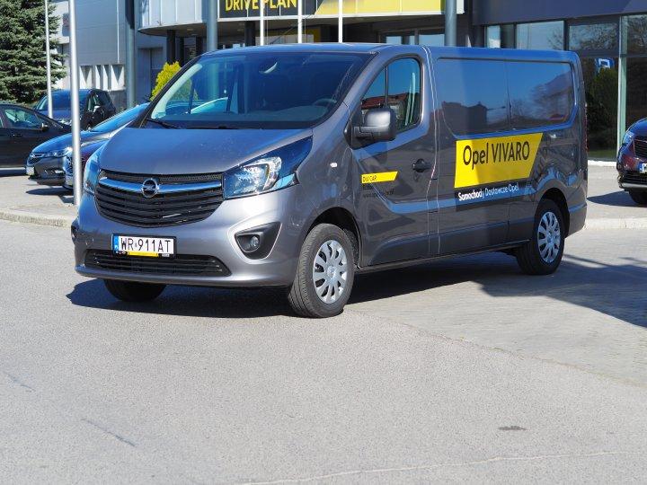 Opel Vivaro Furgon L2H1 1.6 120KM Diesel
