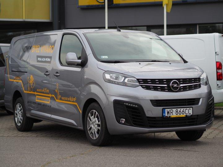 Nowy Opel Vivaro 2.0 122KM Diesel Extra Long