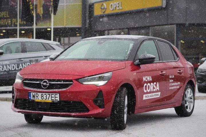 Corsa GS LINE 100KM Benzyna