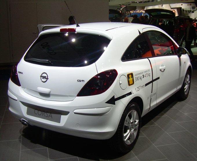 Opel Corsa Van - Dane Techniczne - OPEL Dixi-Car