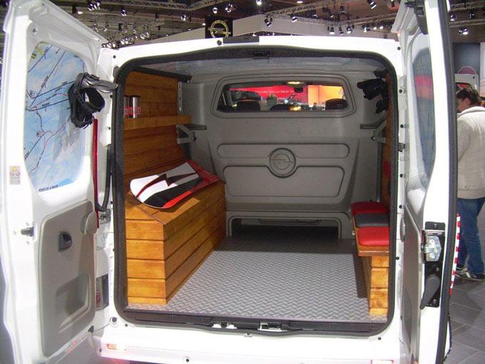 Cudowna Regały, szafki na samochody dostawcze - OPEL Dixi-Car LM45