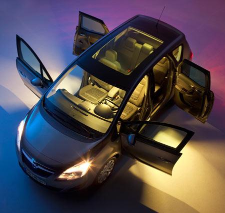 Drzwi otwierane do tyłu Opel Meriva