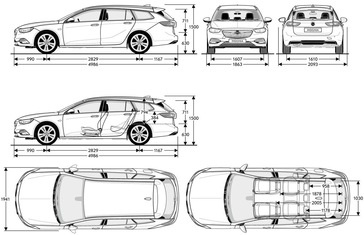 Mazda 3 Forum >> Opel INSIGNIA B - Dane Techniczne - OPEL Dixi-Car