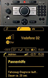 radio opel cd 50 phone