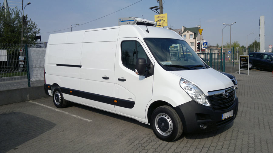 Góra Chłodnia Izoterma - Opel Movano - Dostawcze Dixi-Car PF52