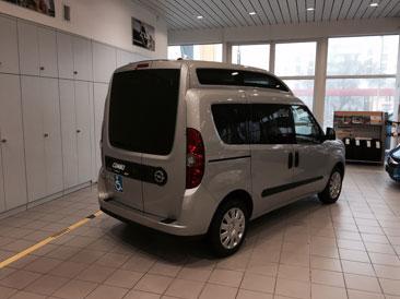 Zupełnie nowe Przewóz osoby niepełnosprawnej na wózku - OPEL Dixi-Car HM46