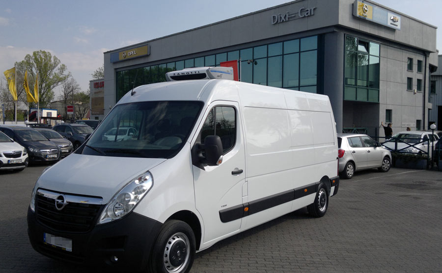 Świeże Chłodnia Izoterma - Opel Movano - Dostawcze Dixi-Car HC79