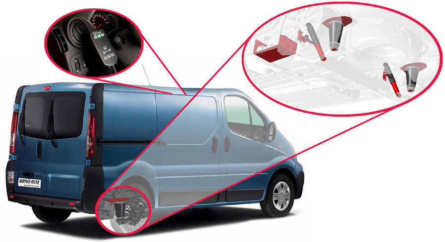 Dodatkowe Miechy zawieszenia: Opel Movano, Vivaro - Dostawcze Dixi-Car NI53