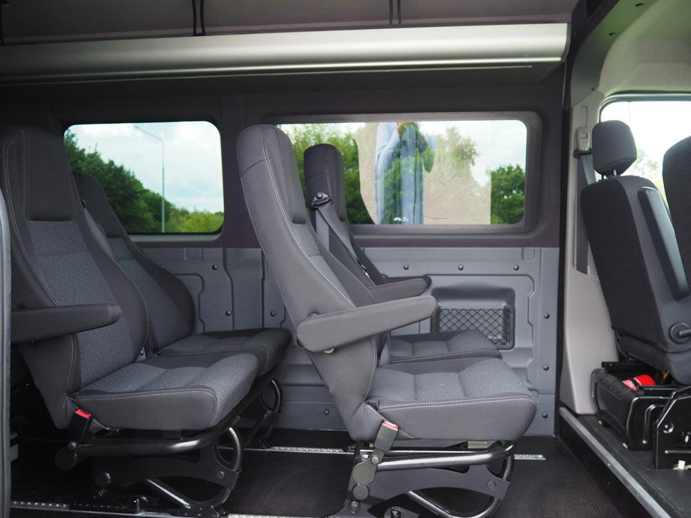 Zabudowa Pasażerska 9 Os Opel Movano Dmc 35 T Dostawcze
