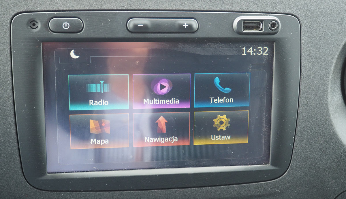 Zestaw audio Navi 50 IntelliLink Opel Movano