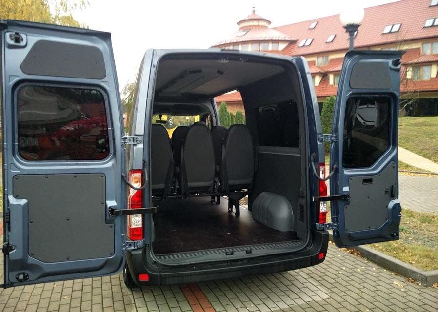 Modne ubrania Vany do przewozu Niepełnosprawnych - Dostawcze Dixi-Car TA74