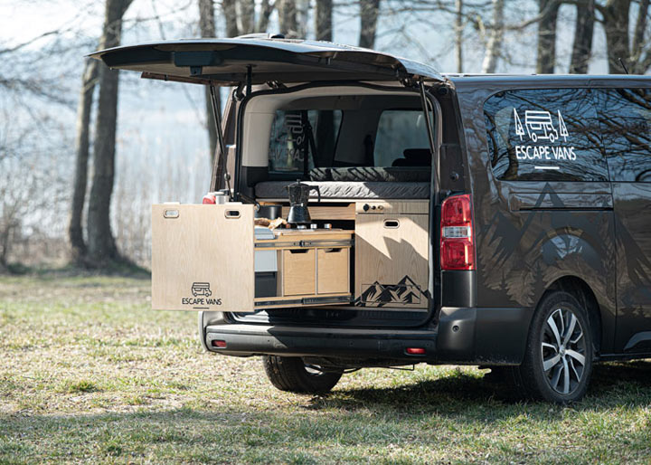 Escape Box na Oplu Vivaro C